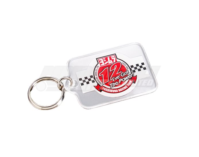 903-213-0000 - Yoshimura Racing Team Key Ring - Plastic