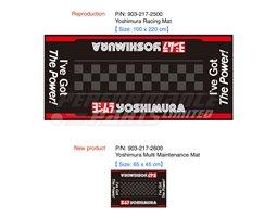903-217-2500 - Yoshimura Racing Floor Mat