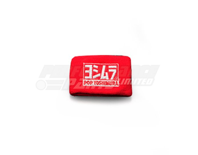 Yoshimura Japan Reservoir Tank Cover - Pop Yoshimura - Red