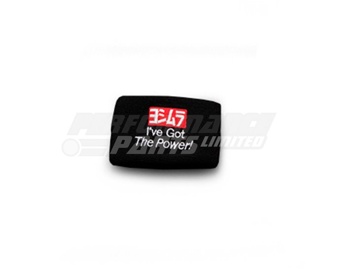 903-219-1200 - Yoshimura Japan Reservoir Tank Cover - I've Got The Power! - Black