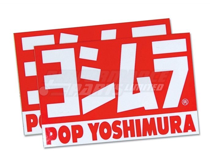 904-054-0000 - Yoshimura Pops Sticker 2 pcs