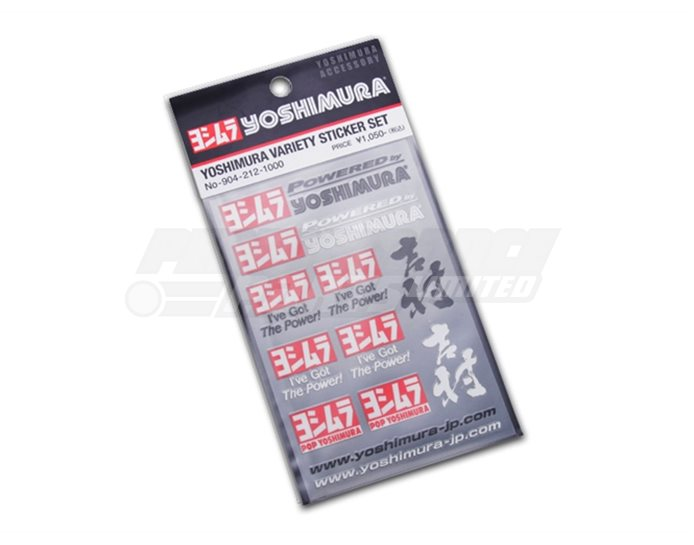 Yoshimura Japan Small Sticker Set
