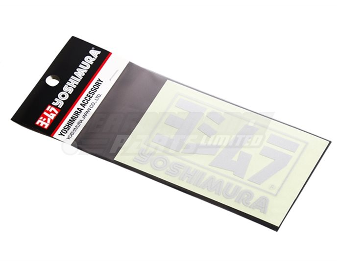 904-213-1300 - Yoshimura Logo Sticker - Silver (available in black, white or silver)