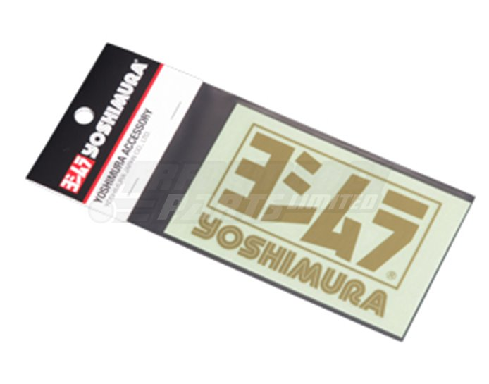 904-213-1400 - Yoshimura Logo Sticker - Gold (available in black, white or silver)