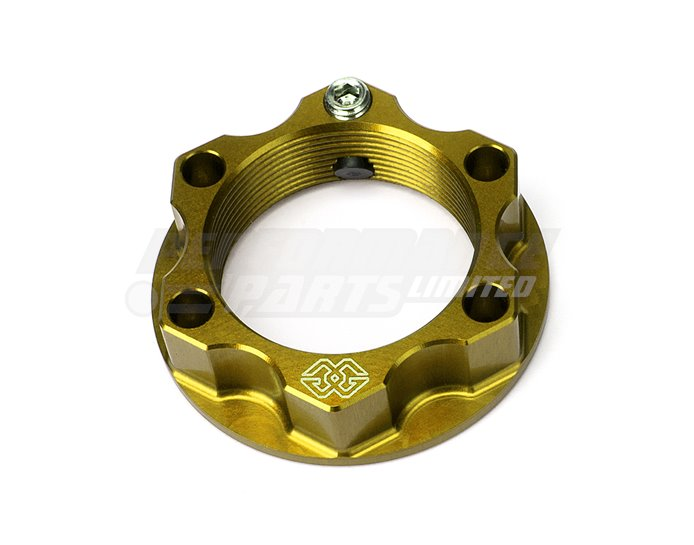 ACMA-22-10-G - Gilles ACMA Locking Top Yoke Nut - Gold (Other Colours Available)