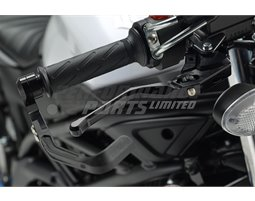 BHP-07 - Gilles Moto GP Style Brake Lever Guard - CNC Machined - Black - M8 thread or ID 13.8-16.5mm
