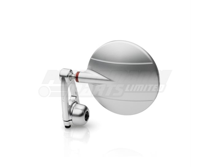 Rizoma Spy-Arm Mirror,  Silver, other colours available - Sold individually. Mirror adapter LP200B or LPR200B required.