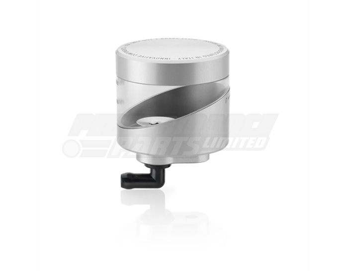 Rizoma Wave Fluid Reservoir, Remote mounting, round cylinder, asymetric window - 31cm3, front brake