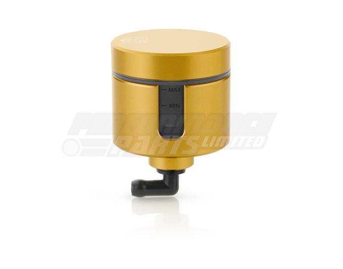 CT155G - Rizoma Notch Fluid Reservoir, Remote mounting, round cylinder, notch window -  31cm3, front brake