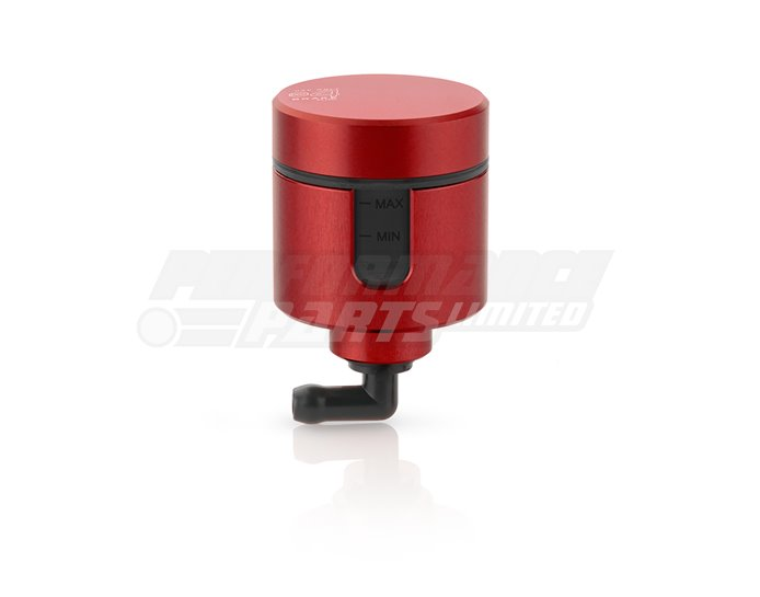 CT157R - Rizoma Notch Fluid Reservoir, Remote mounting, round cylinder, notch window - 31cm3, front brake