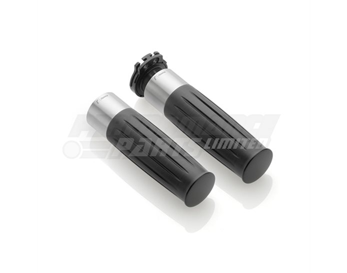 Rizoma Grips, Legend, Ride by wire, Silver
