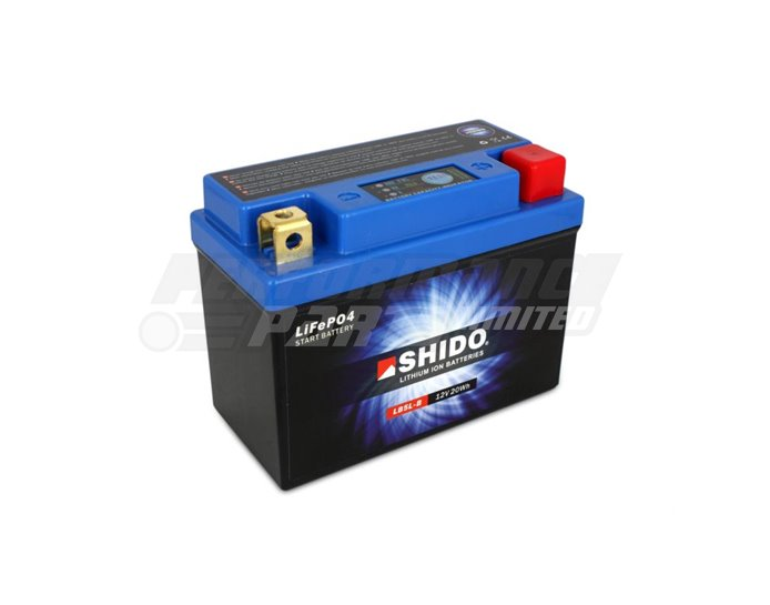 LB5L-B-LION - SHIDO Lightweight Lithium Ion Battery (Replaces YB5L-B) - High Output