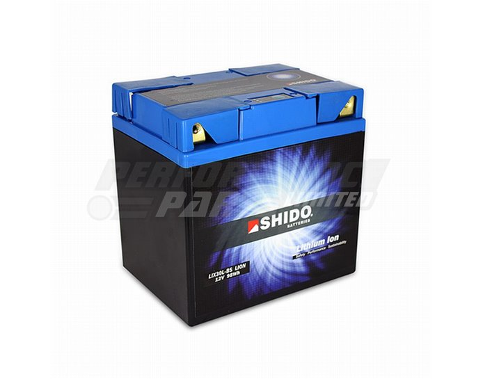 Shido Lithium Battery LIX30L-BS-Q-LION - High Output