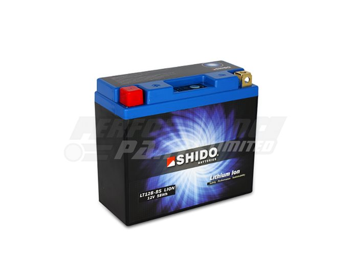 Shido Lightweight Lithium Battery Replaces YT12B-BS