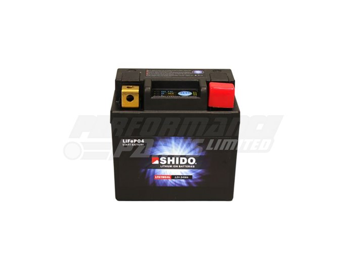 SHIDO Lightweight Lithium Ion Battery (LTKTM04L) - High Output