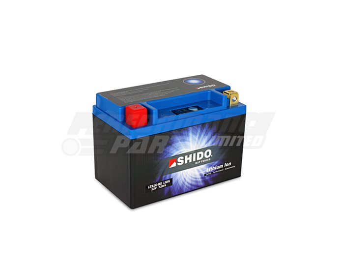 Shido Lithium Battery LTX16-BS-LION