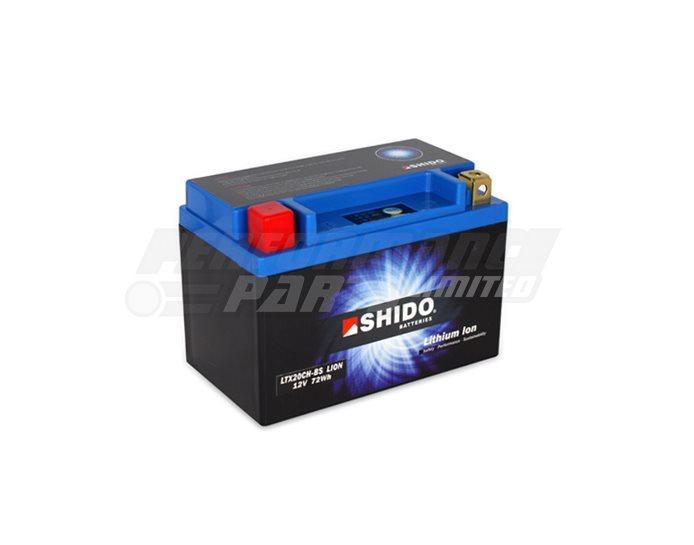 Shido Lithium Battery LTX20CH-BS-LION