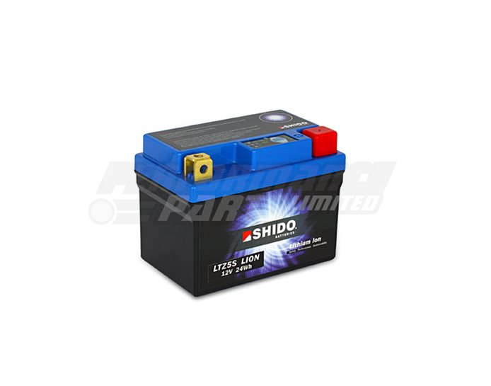 SHIDO Lightweight Lithium Ion Battery (Replaces YTZ5S-BS)