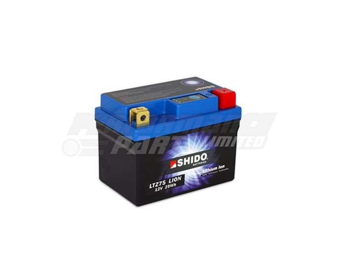 LTZ7S-LION - SHIDO Lightweight Lithium Ion Battery (Replaces YTZ5S-BS)