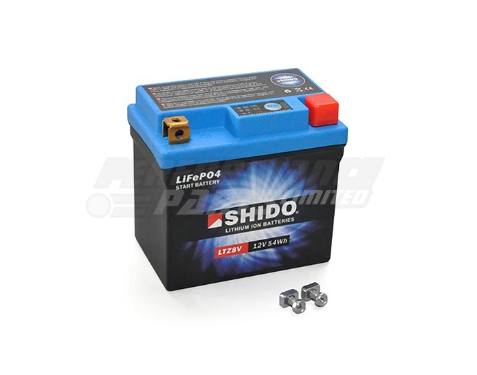 SHIDO Lightweight Lithium Ion Battery (Replaces YTZ8V)