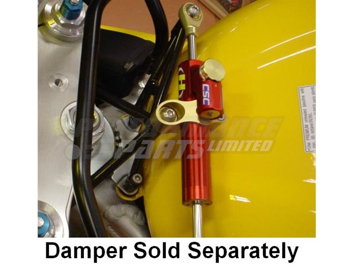Hyperpro Steering Damper Mounting Kit, Gold, other colours available - Top / Tank (916 Style)