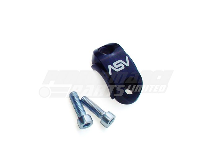 ASV Rotator Clamp For Brake or Clutch Master Cylinder Perch, Black (other colours available)