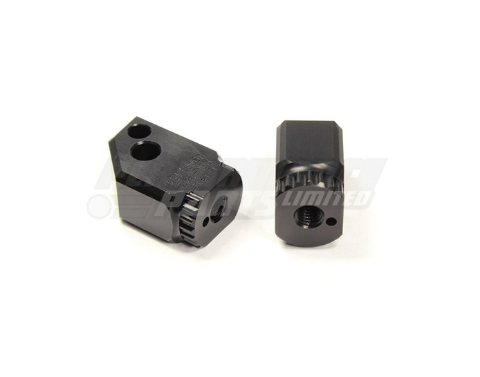 Gilles RIDER Folding Joints (Required for mounting Gilles footpegs) - Black (Other Colours Available)