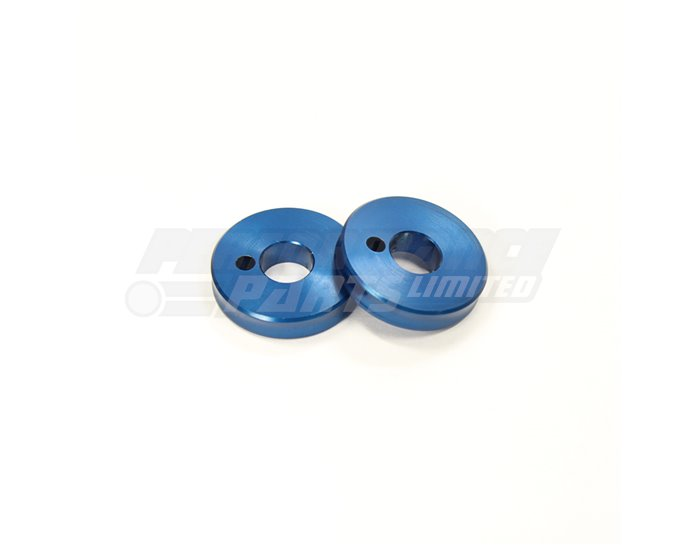Gilles Coloured Insert Rings (for use with Gilles footpegs) - Blue (Other Colours Available)