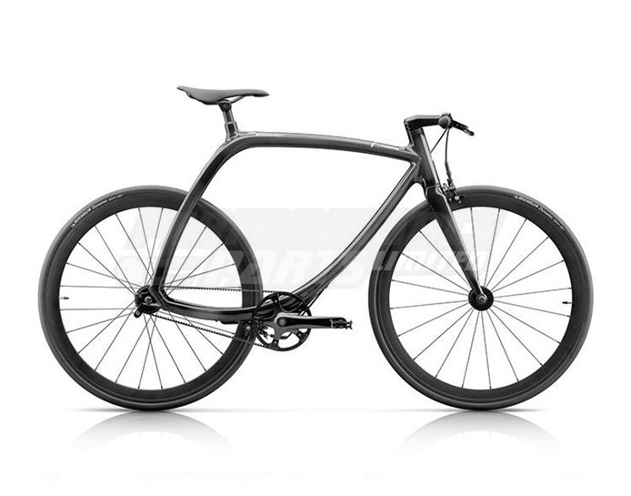 RS77B - Rizoma Metropolitan Bike, 8 speed, Cosmic Black Gloss