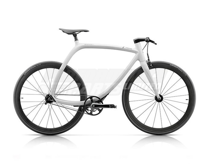 Rizoma Metropolitan Bike, 8 speed, Lunar White Matt