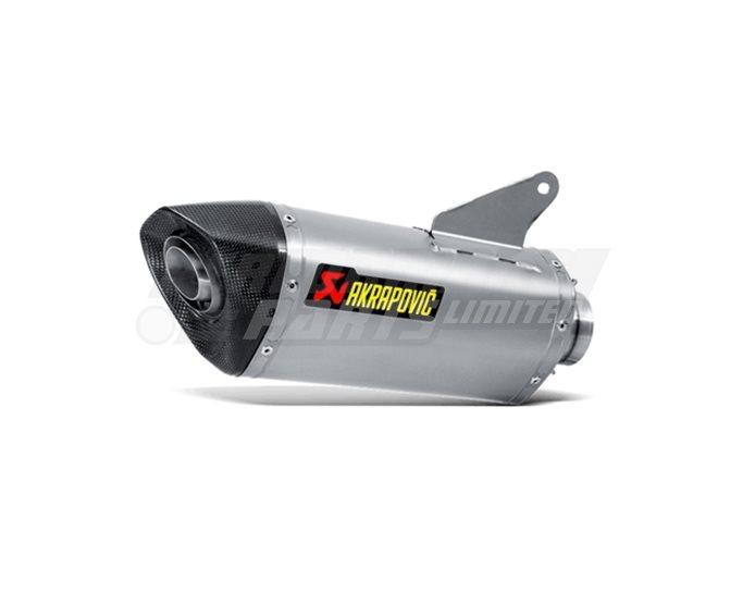 Akrapovic Titanium Silencer Slip-On Silencer (For Use With Akrapovic Link Pipe or Header Set) - Race Removable Baffle