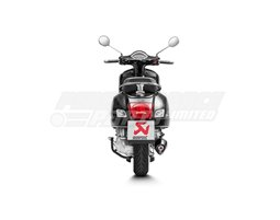 S-VE3SO7-HRBL - Akrapovic SP Titanium Slip-On Kit - Satin Black Finish - Not Compatible With Rear Side Protector kit - Road Legal Removable Baffle
