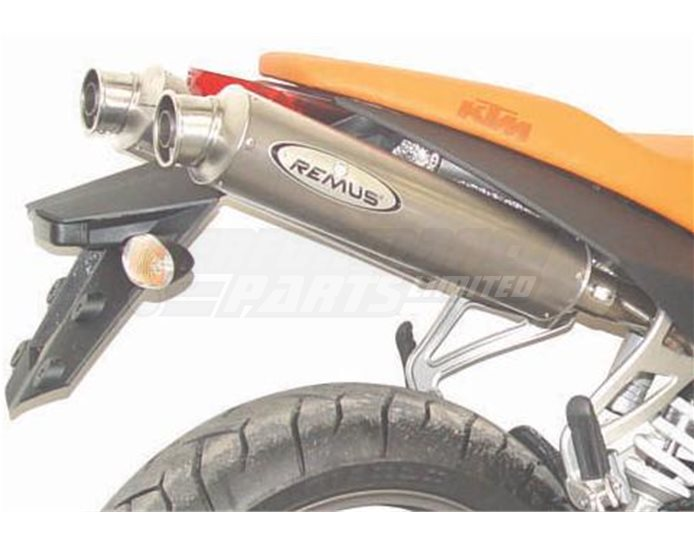Remus GP Revolution Complete System No Cat Convertor Titanium silencer - Road Legal with Removable Baffle