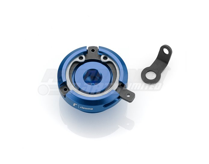 Rizoma Engine Oil Filler Cap, Blue, other colours available