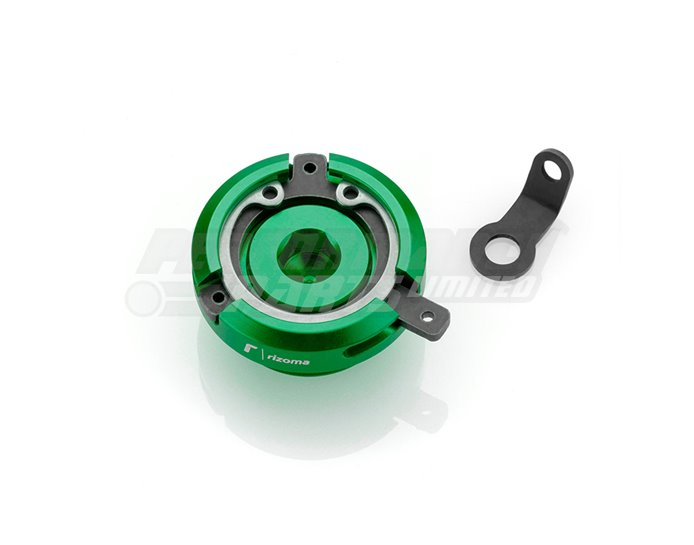 Rizoma Engine Oil Filler Cap, Green, other colours available
