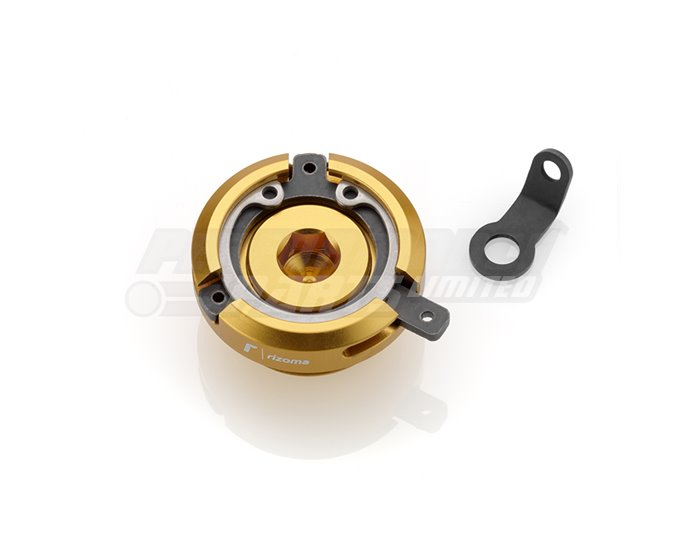 Rizoma Engine Oil Filler Cap, Gold, other colours available