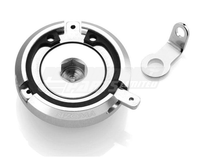 Rizoma Engine Oil Filler Cap, Silver, other colours available