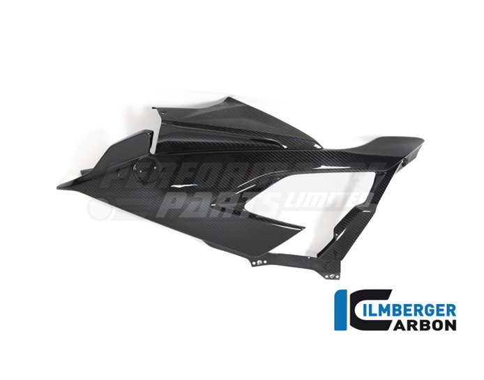 Racing Carbon Fairing Side Panel (left) (Can Only Be Installed With Racing Carbon Bellypan) - (Bracket Kit VHK-299-S1RR9-K Required for Fitm