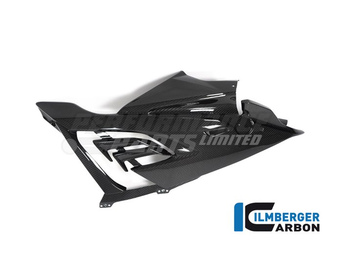 Racing Carbon Fairing Side Panel (right) (Can Only Be Installed With Racing Carbon Bellypan) - (Bracket Kit VHK-299-S1RR9-K Required for Fit
