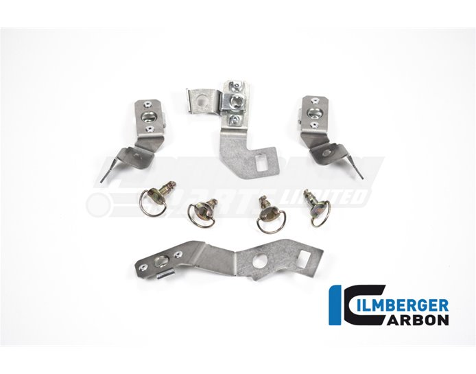 Fairing Bracket Kit (for Sidepanels and Bellypan or Complete 4 Piece Race Fairing Kit) - Suitable for S1000RR & M1000RR