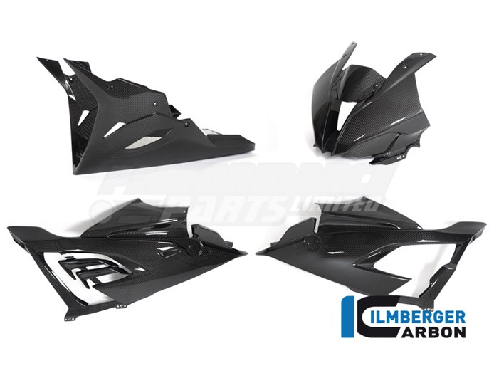 Racing Carbon Complete Race Fairing (4 piece kit) (Bracket Kit VHK-299-S1RR9-K Required for Fitment)