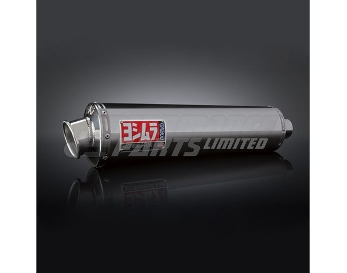 ZX649SO - Yoshimura Stainless RS-3 Oval Bolt-On RACE (Removable Baffle)